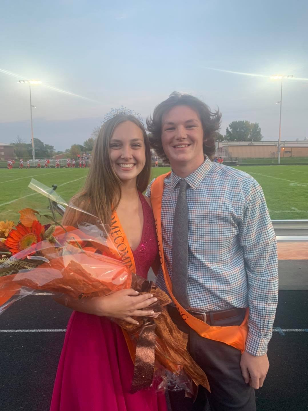 Anderson, Barry crowned at CCHS homecoming