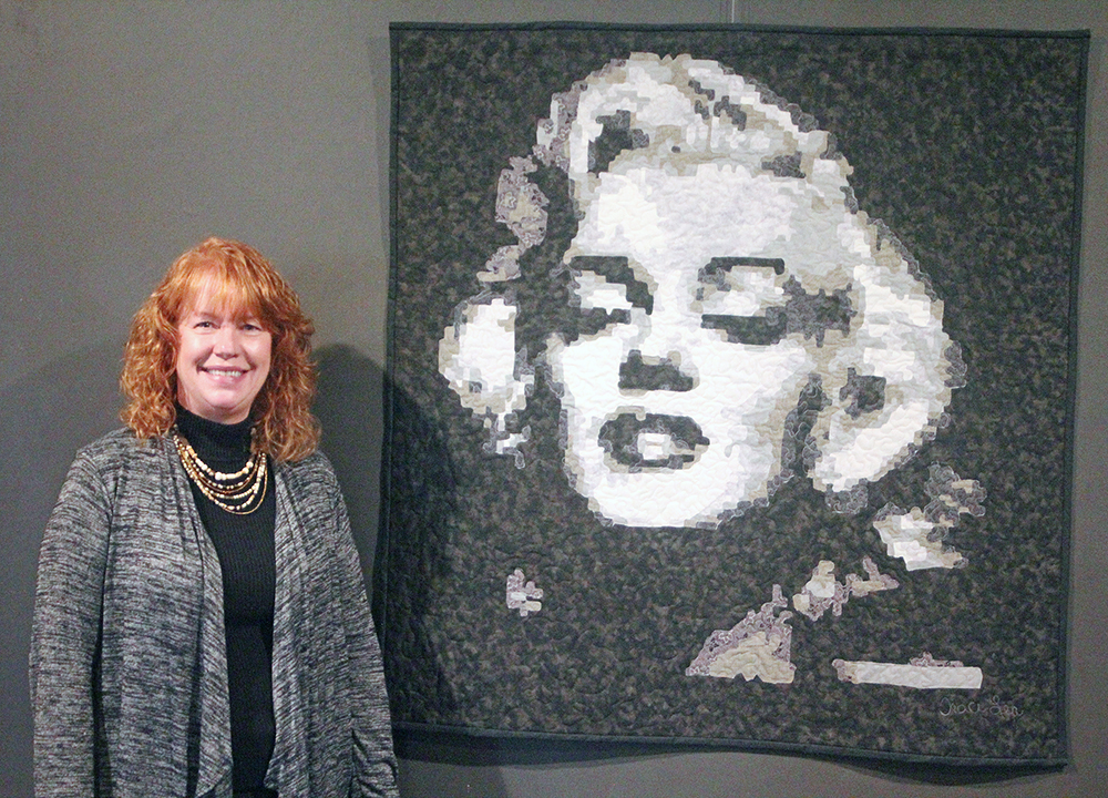Fabric artist featured at Charles City Arts Center in October