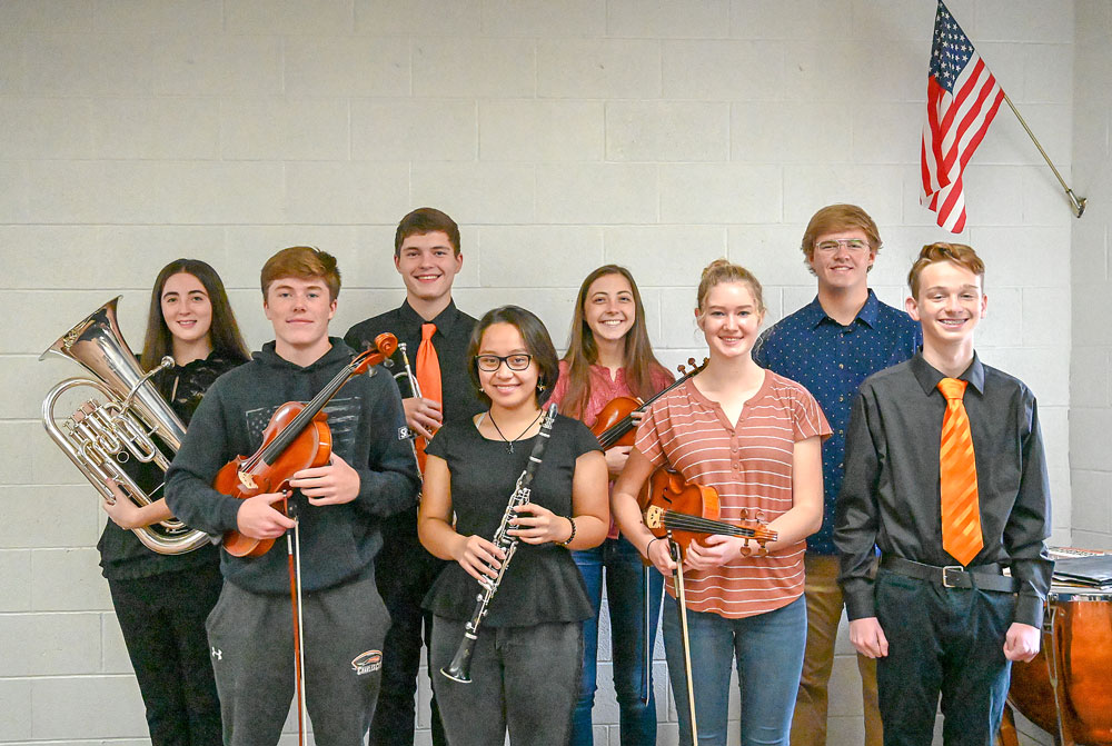 Eight CCHS musicians, vocalists earn All-State honors
