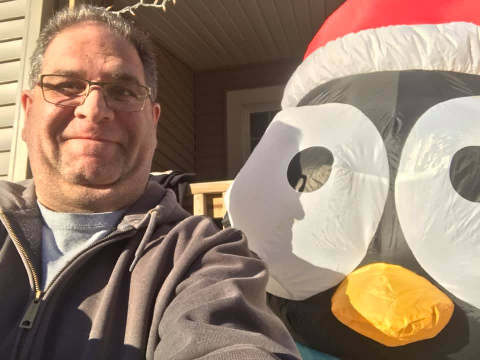 GROB: Merry Christmas from my penguin and me