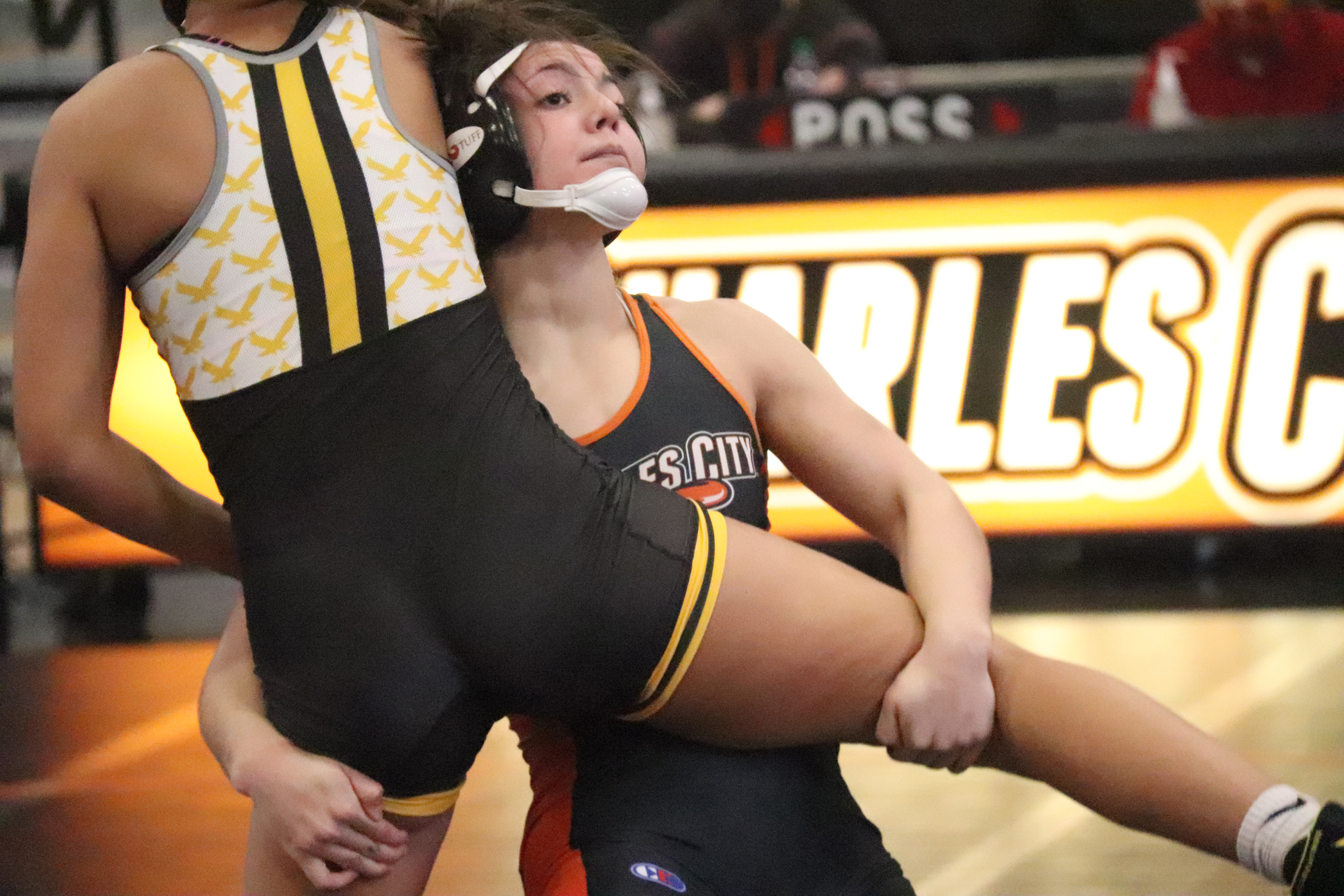 Connell, Luft and Maloy win individual titles at Anamosa Girls Wrestling Tournament