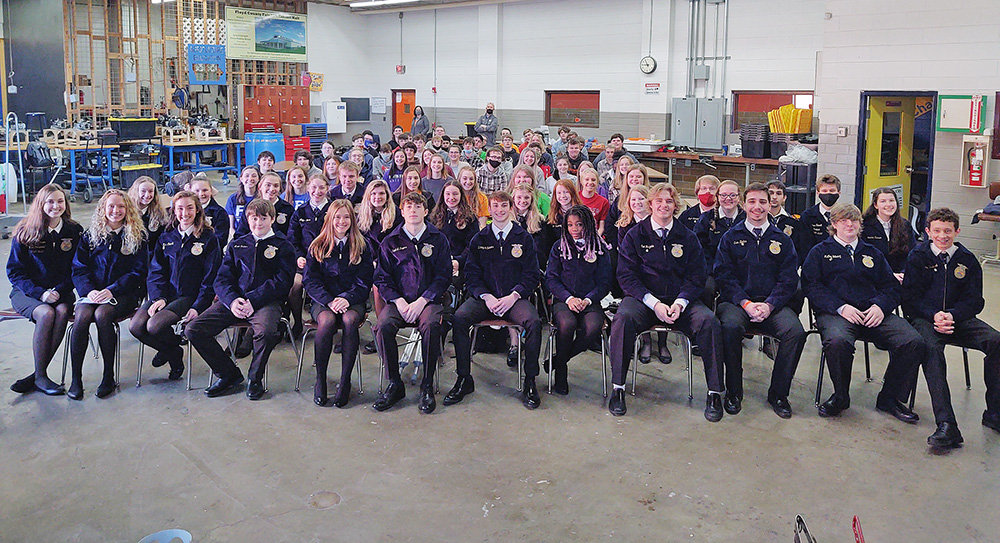 Charles City FFA groups compete at sub-district event