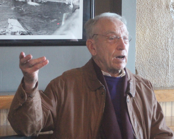 Grassley visits Pub, takes questions from Farm Bureau