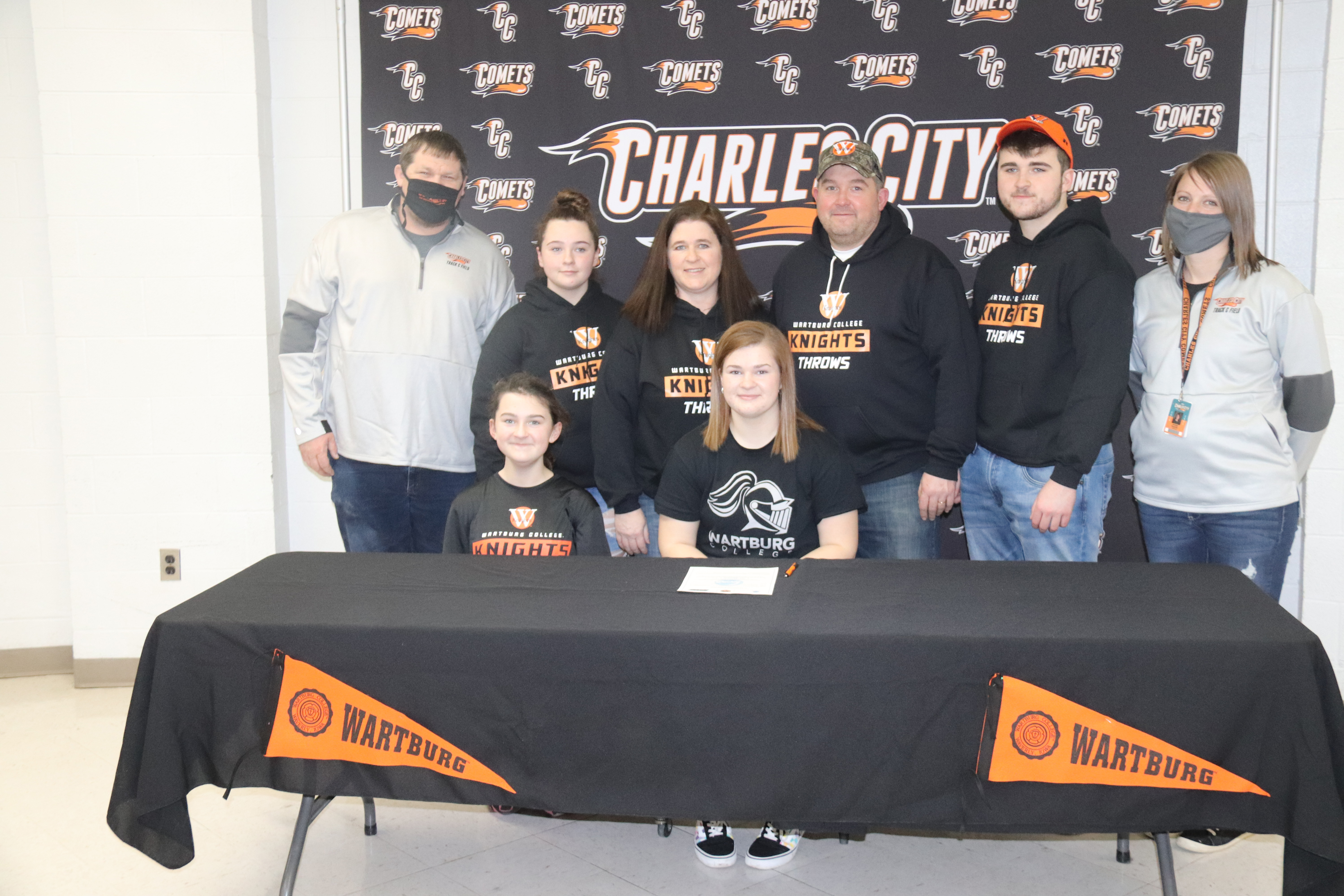 Carly Stevenson hopes to set Comet discus record before continuing at Wartburg